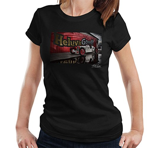 Martyn Goddard Official Photography - HCS Special Distressed Effect Indy Racer Women's T-Shirt