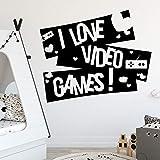 Citations exquises I Love Gamer Pour la décoration de la pièce Accessoires Pour...