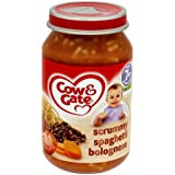 Cow & Gate Scrummy Spaghetti Bolognese de 7m Onwards 200g x 6