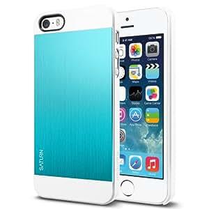 [Brushed Aluminum] Spigen iPhone 5S Case Aluminum [Saturn] [Metal Teal]