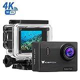 Action Cam 4k, icefox Wasserdicht bis 30 Meter Unterwasserkamera, WIFI Fernbedienung Kamera mit...