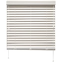 Chicology 23 by 64-Inch Bass Wood Blinds, Pearl