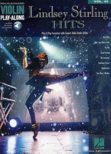Hal Leonard Lindsey Stirling Hits Vol. 45?Play Along for Violin