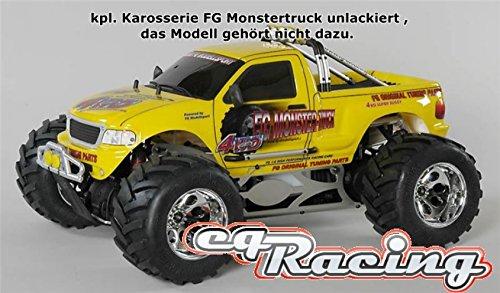 fg monster FG WB535 Offroad 2WD Monster Truck Karosserie unlackiert FM2®