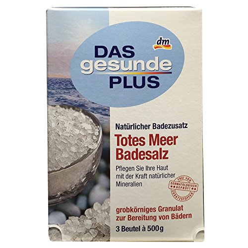 DAS gesunde PLUS Totes Meer Badesalz (3 Beutel a 500g)