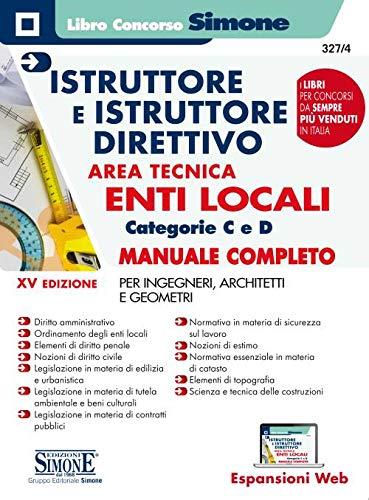 Istruttore e istruttore direttivo. Area
