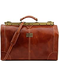 Tuscany Leather Madrid Sac de voyage en cuir - Petit modèle Miel JOtJuvIRO