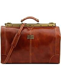 Tuscany Leather Madrid Sac de voyage en cuir - Petit modèle Miel