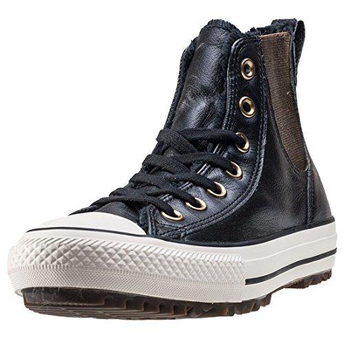 Converse All Star Chelsea LTR Fur Hi W Scarpa Black/Black/Egret
