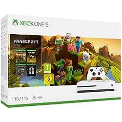 Xbox One S - Consola de 1 TB + Minecraft Creators