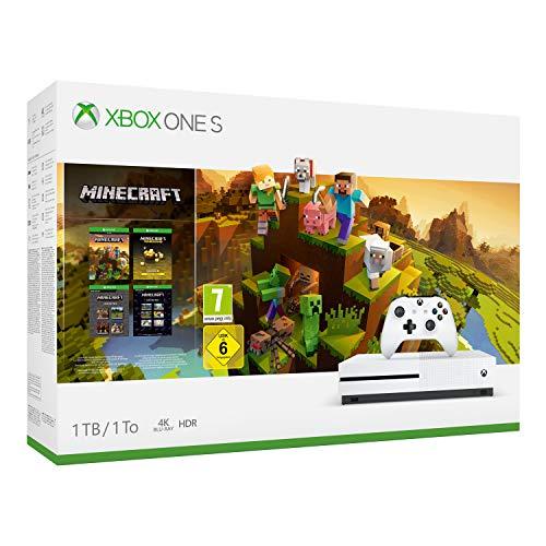 Microsoft Xbox One S 1TB Weiß inkl. Minecraft