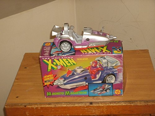 The Uncanny X-Men Evil Mutant Magneto Magnetron Vehicle - Catapult Launches Metallic Disks by X Men