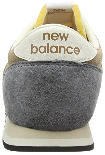New Balance U420v1, Baskets Basses Homme, Schwarz, Taille Unique Beige (Beige/White/Grey)