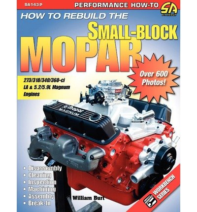 [( How to Rebuild the Small-Block Mopar [ HOW TO REBUILD THE SMALL-BLOCK MOPAR ] By Burt, William ( Author )Jan-04-2008 Paperback By Burt, William ( Author ) Paperback Jan - 2008)] Paperback