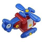 Vaycally DIY Kinder und Kinder zerlegen zusammengebaute Karikaturhubschrauberspielzeugwerkzeuge Um Kreativität der Kinder zu Verbessern