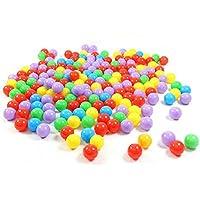 niceEshop(TM) Bolas Para los Niños del Beb?No Tóxicos a Prueba de Aplastamiento de Plástico de Ocean Bola,50 Piezas