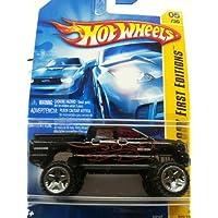 Mattel Hot Wheels 2007 New Models 1:64 Scale Black Dodge Ram 1500 Die Cast Truck #05 by Mattel - 2007 Dodge Ram