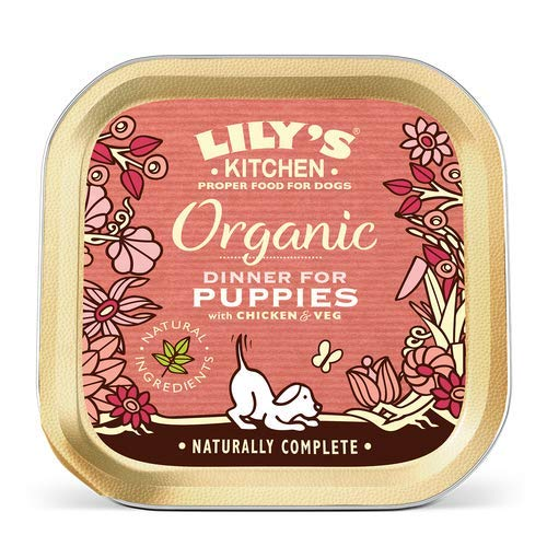 Lilys Kitchen   Organic Dinner - For Puppies   6 X 150G (Hundefutter Marmeladen)