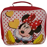 DISNEY MINNIE MOUSE INSULATED SCHOOL LUNCH CARRY BAG BN