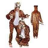 NEU Damen- und Herren-Kostüm Tiger Gr. M-L