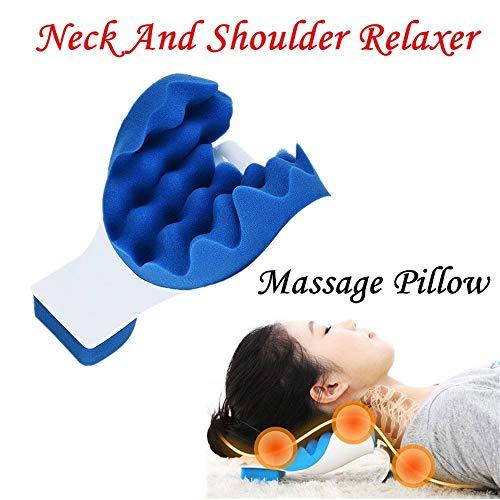 KIKY Nackenkissen für Nacken, Schultern, Nacken, Schmerzlinderung, Massagekissen