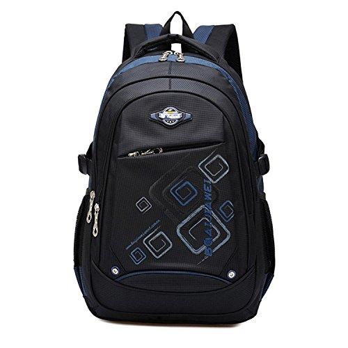 71d4349f8b Cartable Imperméable Durable de Voyage Camping Scolaire Multifonctionnel ,  Backpack , Sac pour les Garcons Filles