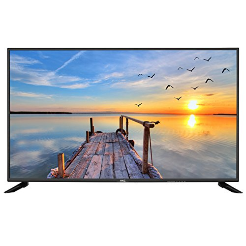 HKC 43 F6 43 inches (109 cm) LED TV (Full HD, triple tuner, DVB-T2 / T / C / S2 / S, H.265 hevc, CI +, multimedia player Via USB) [Class of energy efficiency A] [Energy Class A]