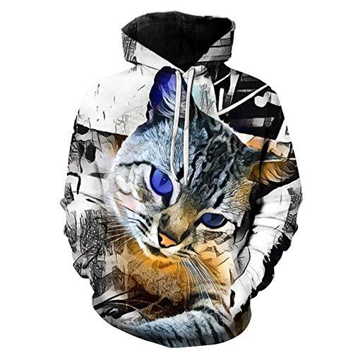 zysymx Marke Wolf Printed Hoodies Herren/Damen 3D Sweatshirt Qualität Plus Size Pullover Neuheit Streetwear Herren Kapuzenoberteile