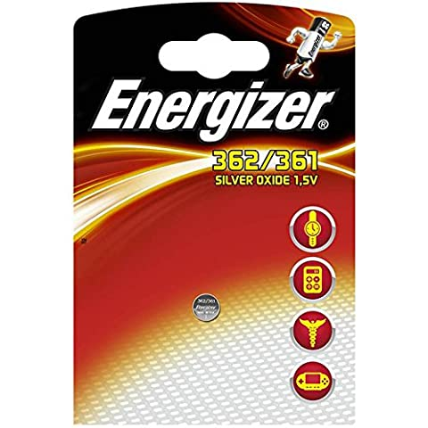 Energizer SR 362/361 Silver Oxide Button Cell Battery