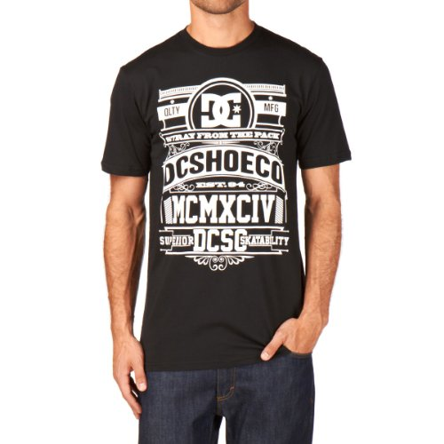 DC Shoes Herren T-Shirts, Gr. X-Large, blau Black