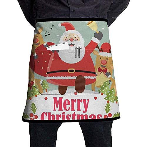 Sean Turner Delantal navideño Cocina Estampado Papá