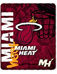 Miami Heat 50x60 Fleece Blanket - Hard Knock Design