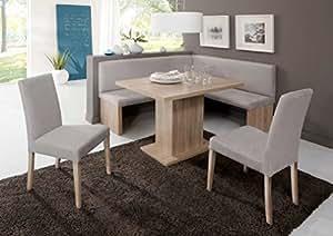 moebel 39 eck bank gruppo charleen eck bank gruppo di sedie cucina sala da pranzo. Black Bedroom Furniture Sets. Home Design Ideas