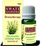 Swati Ayurveda Essential Oil Citronella (Cymbopogon Nardus) 10 Ml