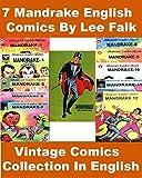 Mandrake The Magician Comics Series: Collection of 7 Mandrake Comics By Lee Falk | Vintage English Comics Collection