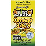 Source of Life® Animal Parade® Omega 3/6/9 Junior 90 softgels NP