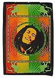 Traditionelle Jaipur Hippie Poster, Bob Marley Wand Wandteppich, indisches Wohnheim Zimmer Dekorationen, Bohemian Wandbehang, Gypsy Werfen, Boho Art Wand 76,2x 101,6cm