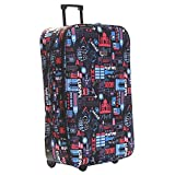 Slimbridge Large Hold Luggage Suitcase Trolley Bag Super Lightweight 73 cm 2.95 kg