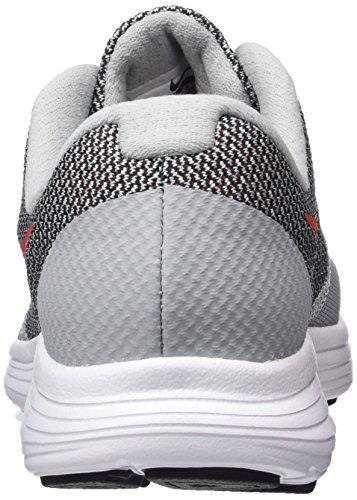 Nike 819413-006, Chaussures de Tennis Garçon Gris (Wolf Grey/mx Orng-black-white)