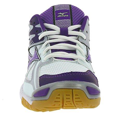 Mizuno Wave Bolt 4, Chaussures Multisport Indoor femme purple