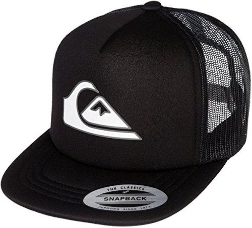 Quiksilver Snapper Boys Trucker Cap Black (Quiksilver Black Hat)