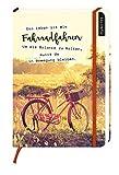 myNOTES Das Leben ist wie Fahrradfahren. Um die Balance zu halten, musst du in Bewegung bleiben - Notizbuch medi für Träume, Pläne und Ideen: Notizbuch Mediumformat / blanko