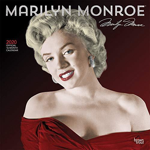 Marilyn Monroe 2020 - 16-Monatskalender: Original BrownTrout-Kalender [Mehrsprachig] [Kalender] (Wall-Kalender) - Kalender Film