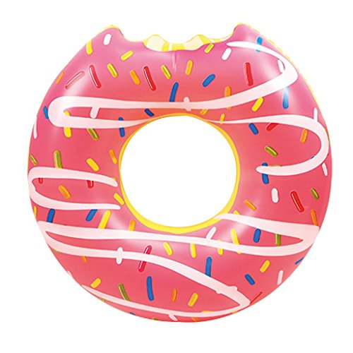 20-Small-Donut-SwimRing-Inflatable-Doughnut-Ring-Pool