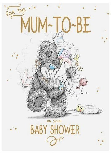 shop inc For The Mum To Be - Me To You Card - Baby Shower New Love Girl Boy by shop inc