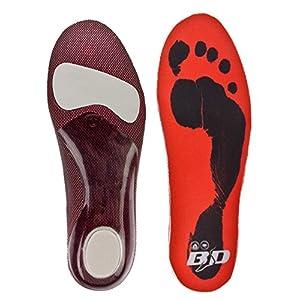 BOOTDOC Innensohle S5 für den Skischuh Snowboardschuh Ski Snowboard boots