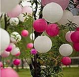 EQLEF® 10 Stücke von 8 Zoll Dekorative Papierlaternen Für Hochzeit