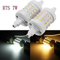 Bazaar R7S 7W 36SMD 2835LED luce cruda non-dimmable Lampadina di tubo della lampada 85–265V