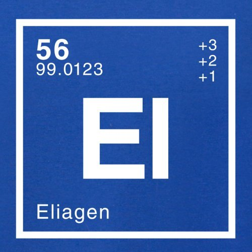 Elia Periodensystem - Herren T-Shirt - 13 Farben Royalblau