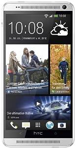 HTC One Max Smartphone (15 cm (5,9 Zoll) Touchscreen, 1,7GHz Quad-Core-Prozessor, 2GB RAM, Ultrapixel Kamera, 16 GB interner Speicher, MicroSIM, Android 4.3) silber